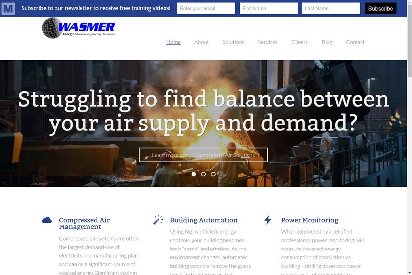 Wasmer Company Website