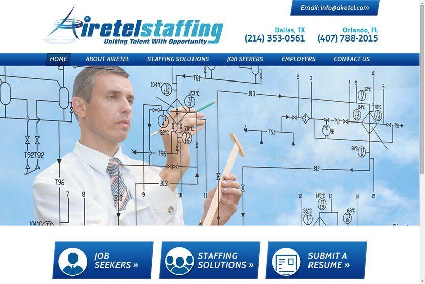 Airetel Staffing Website
