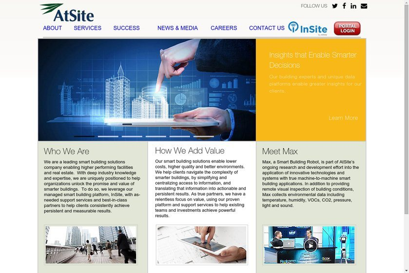 AtSite Website