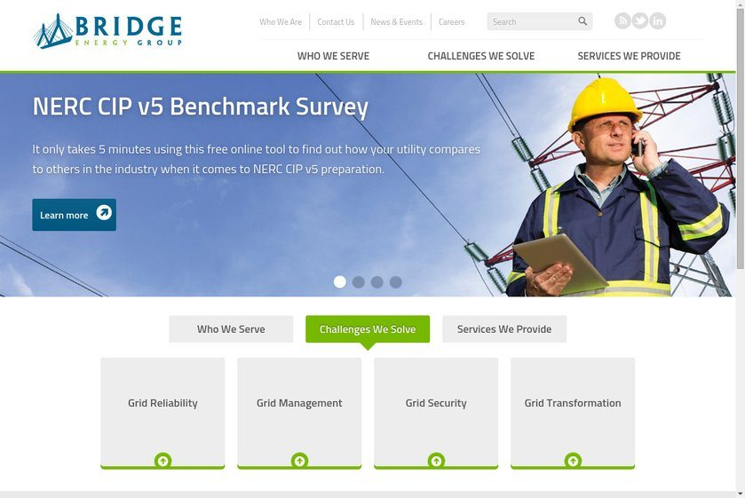 Bridge Energy Group Website