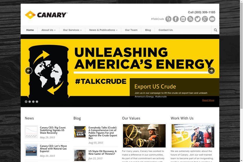 Canary USA Website