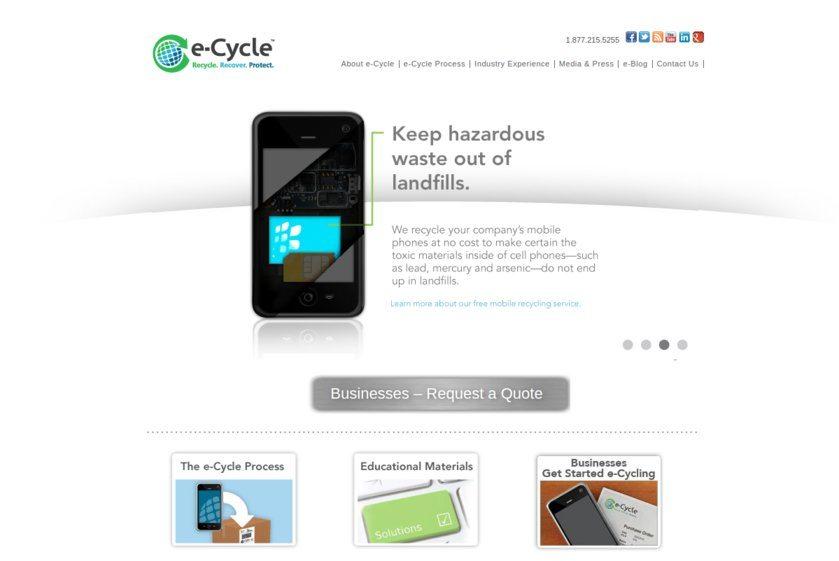 e-Cycle Website
