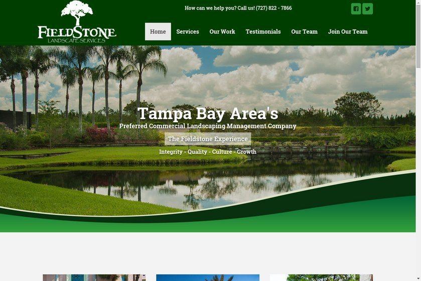 Fieldstone Landscape Services Website