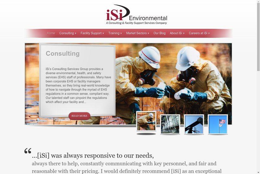 iSi Environmental Website