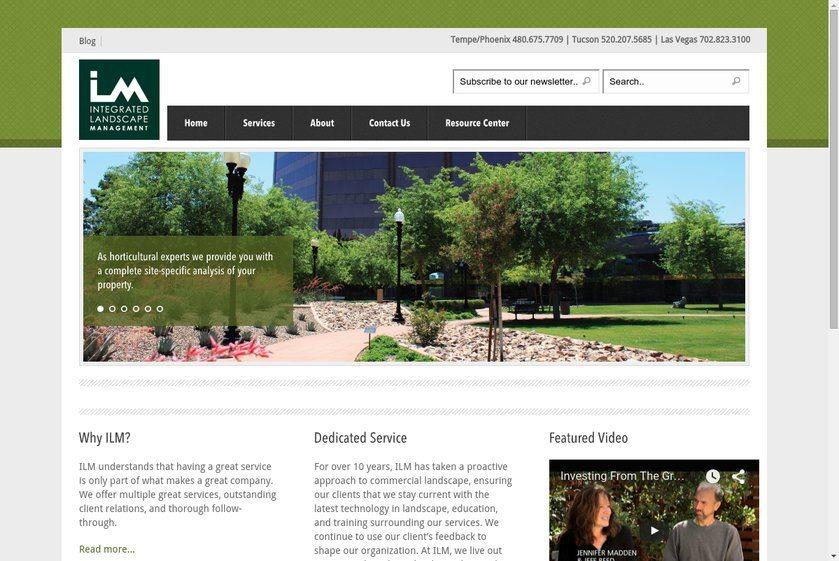 Integrated Landscape Management Website