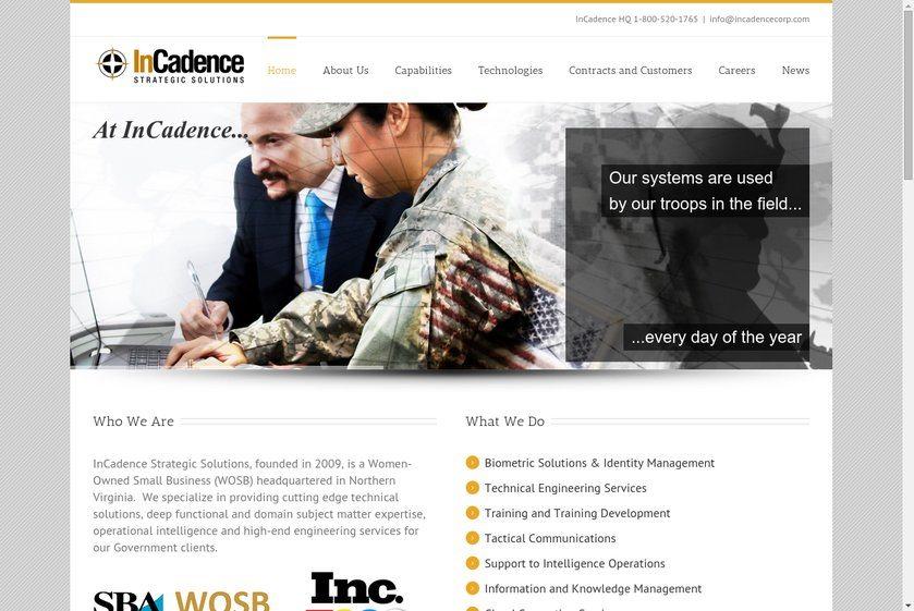 InCadence Strategic Solutions Website