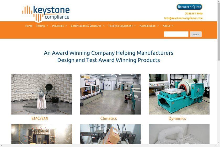 Keystone Compliance Website