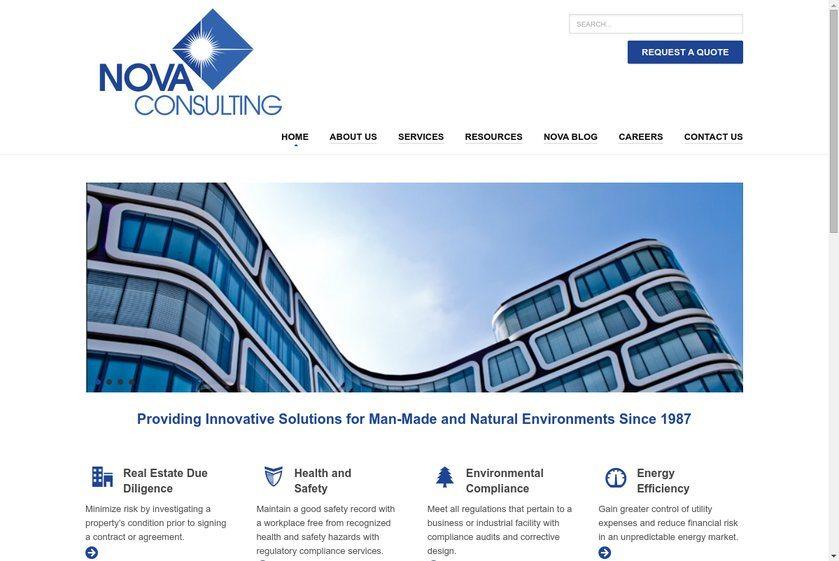 Nova Consulting Group Website