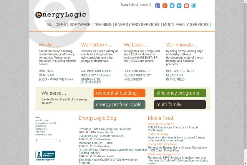 EnergyLogic Website