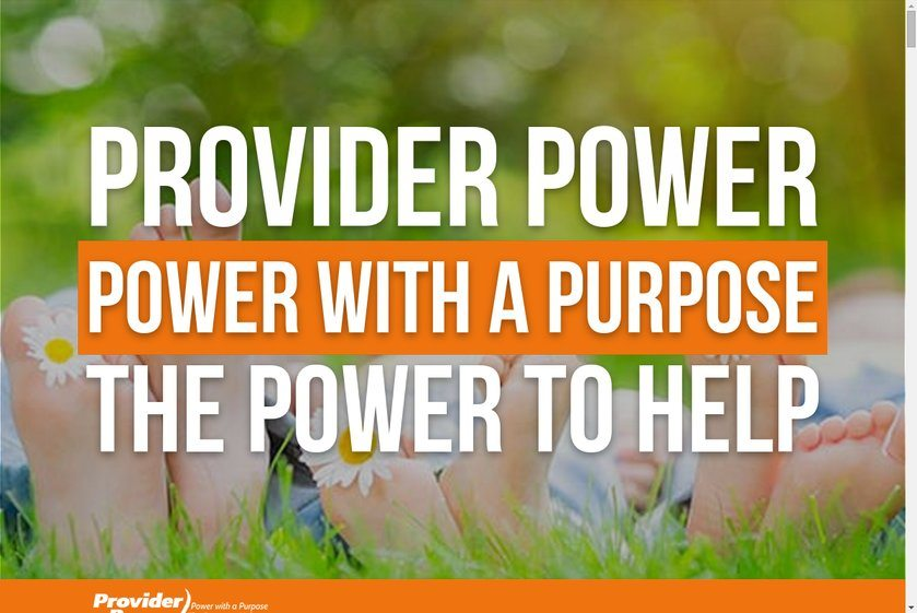 Provider Power Website