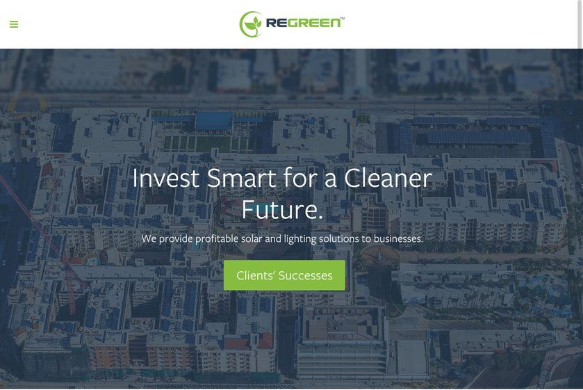 ReGreen Website