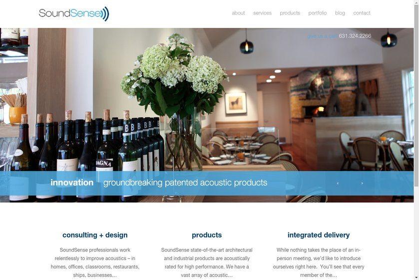 SoundSense Website