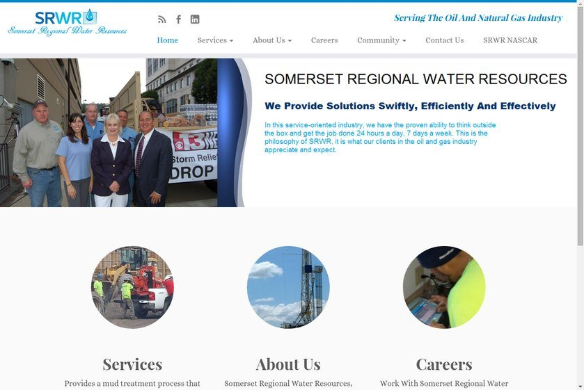 Somerset Regional Water Resources Website