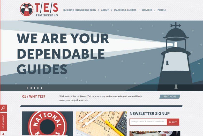 TES Engineering Website