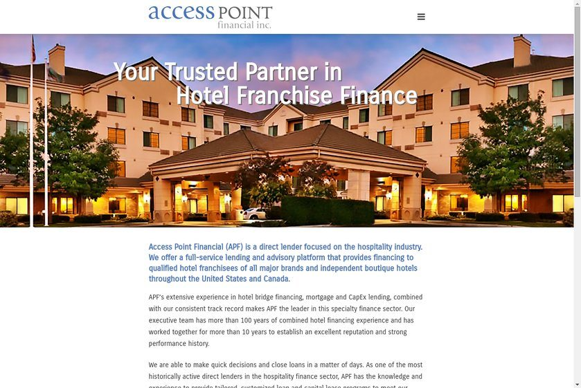 Access Point Financial Website
