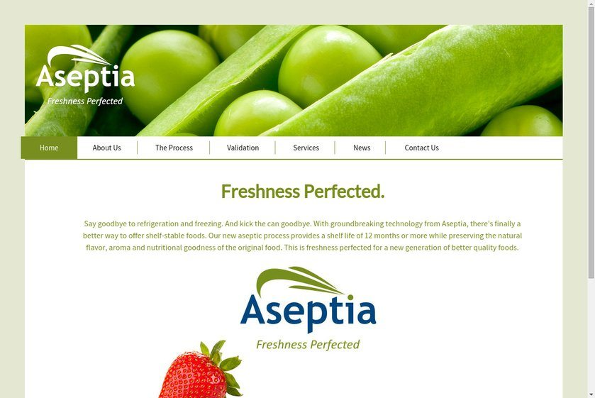 Aseptia Website