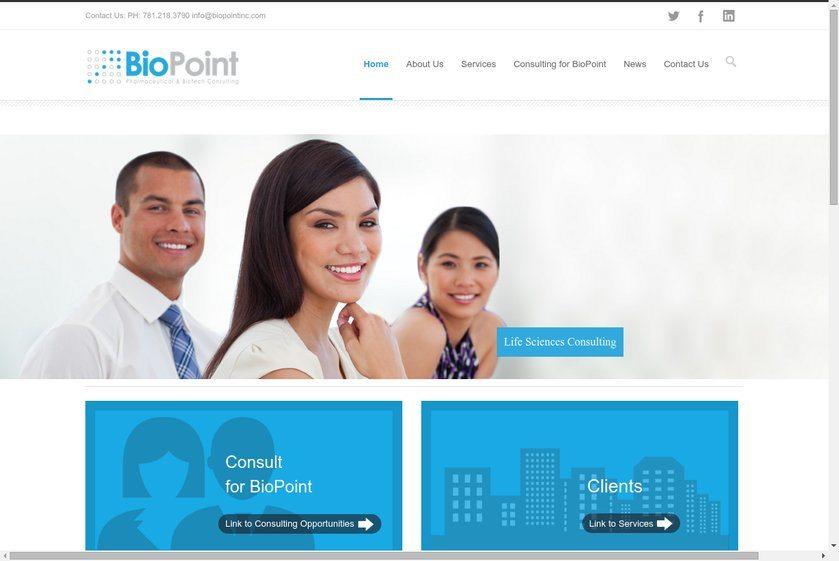 BioPoint Website