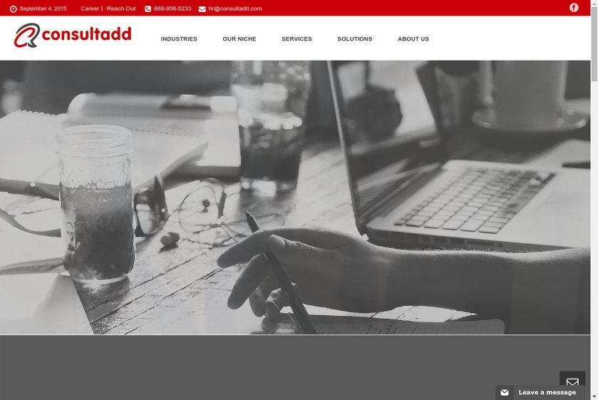 ConsultADD Website