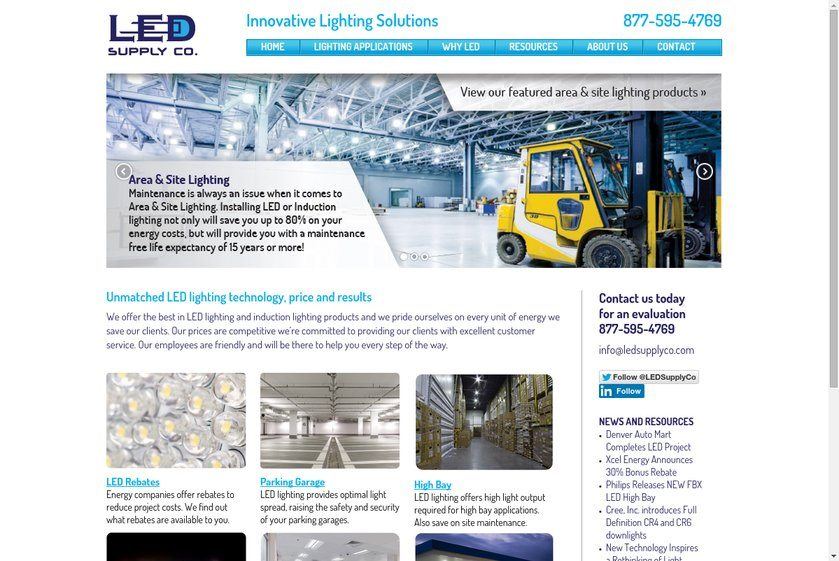 Led Supply Co Website