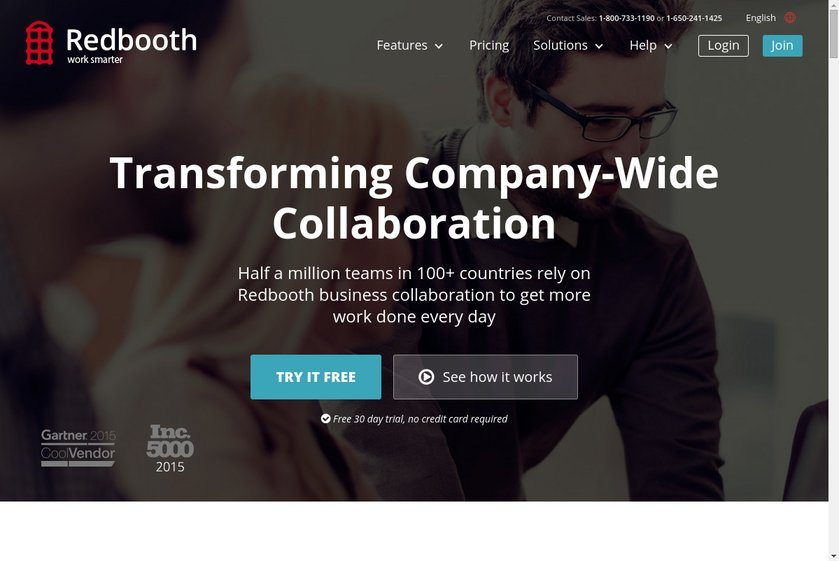 Redbooth Website
