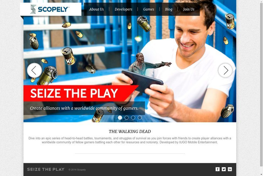 Scopely Website