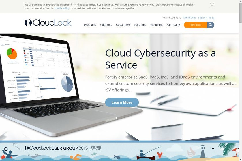 CloudLock Website