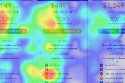 Read Heatmaps and Clickmaps with Nelio