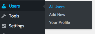 Option to show all users in WordPress.