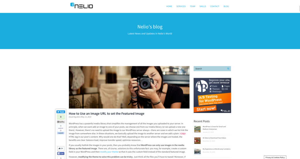 Post for Nelio External Featured Image