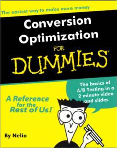 Read A/B Testing for dummies