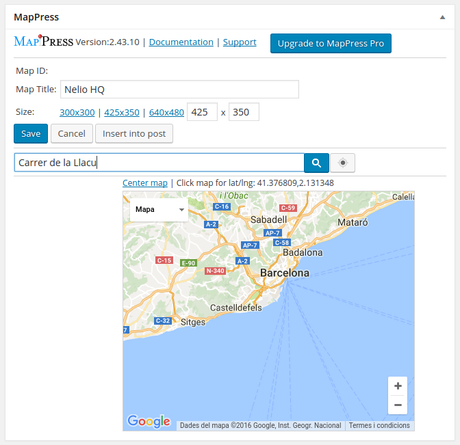 Embed Beautiful Google Maps in WordPress With and Without Plugins