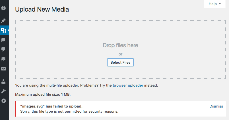 How to Upload Additional File Types in WordPress