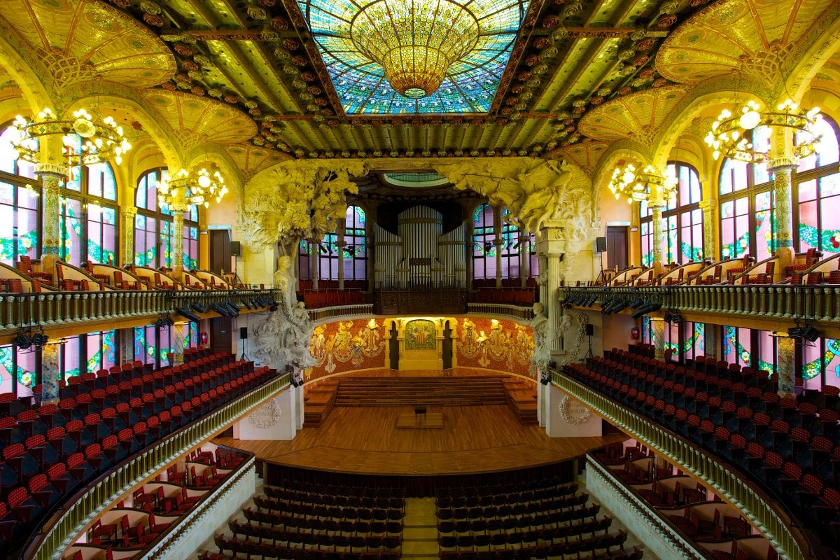 Palau de la Música Catalana, by Jiuguang Wang