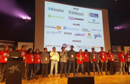 WordCamp Barcelona 2016 Organizers