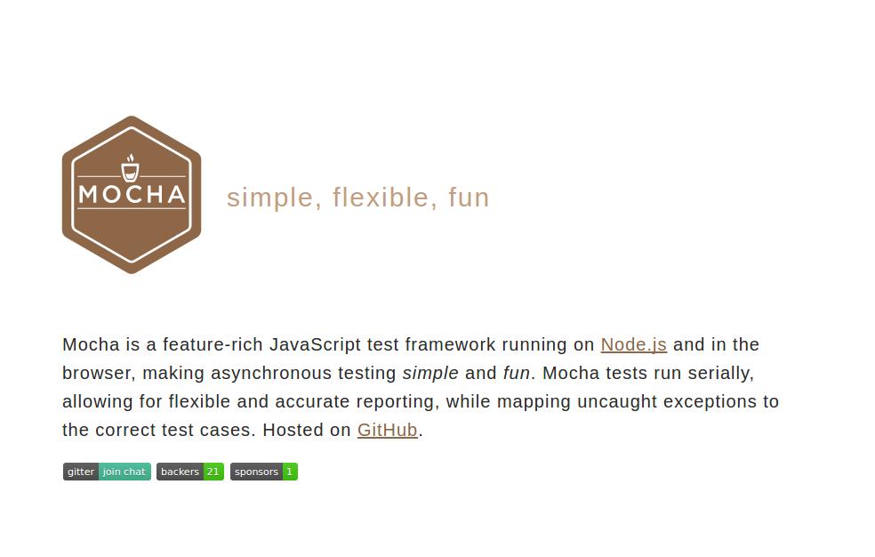 Mocha - JavaScript Testing Framework
