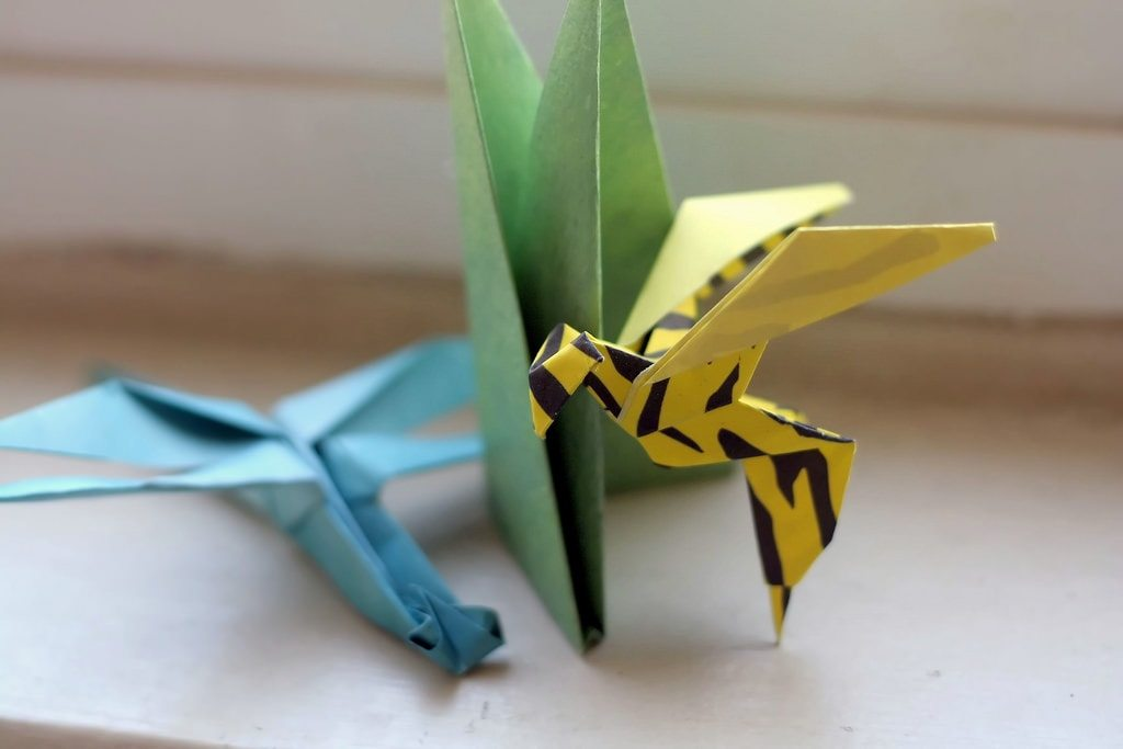 Origami, by Jack Lyons