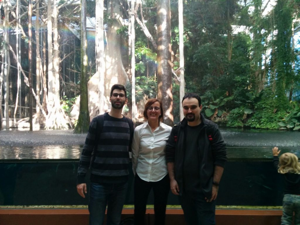 Herewe are at the CosmoCaixa, during a break from the WordCamp Barcelona 2016.