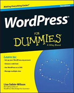 WordPress for Dummies.