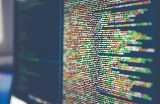 Programming code by Markus Spiske.