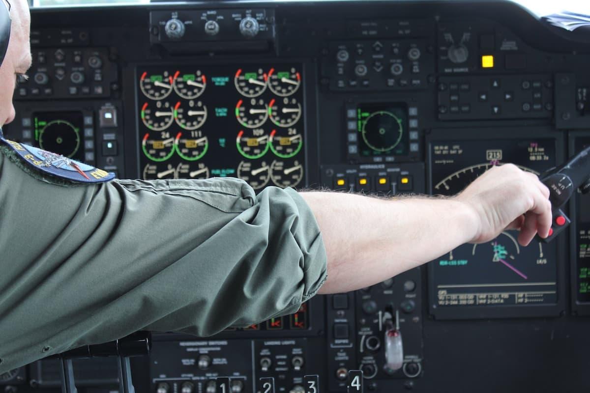 Flight Deck by Byron Sterk