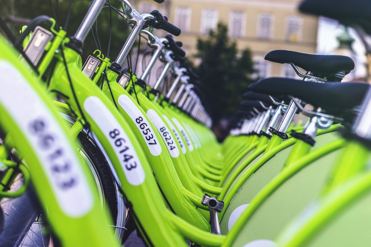 Neat bikes in Budapest, by Viktor Kern