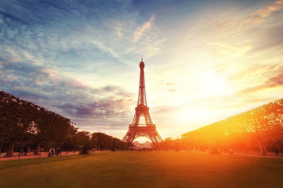 Eiffel Tower in Paris, by William West