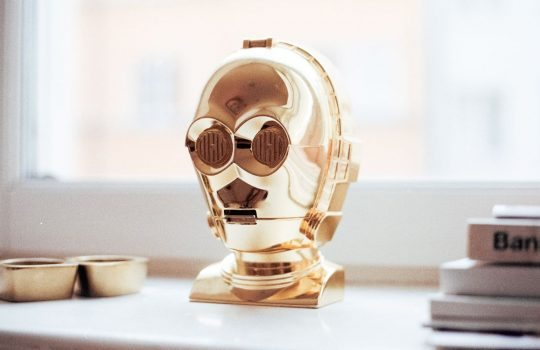 Gold, toy, c3po, window sill and star wars HD photo by Jens Johnsson