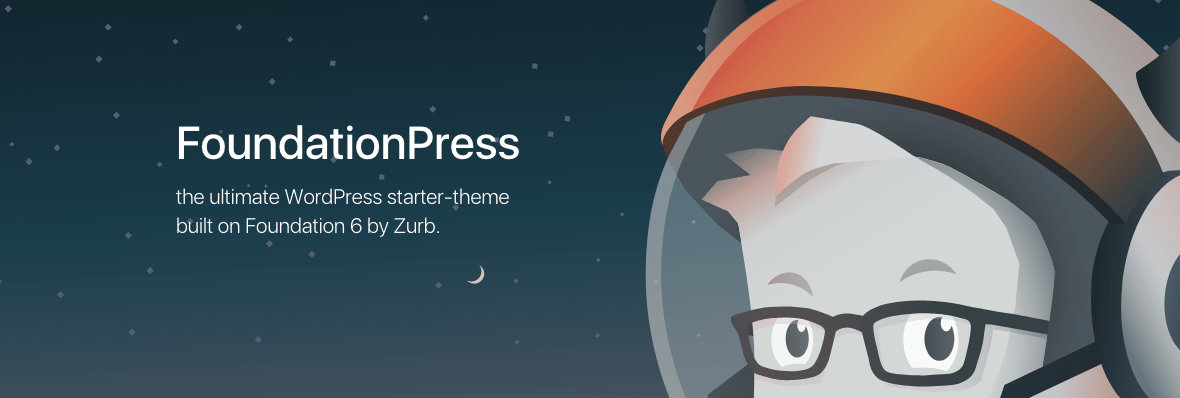 FoundationPress, a starter theme for WordPress that includes the Foundation framework.
