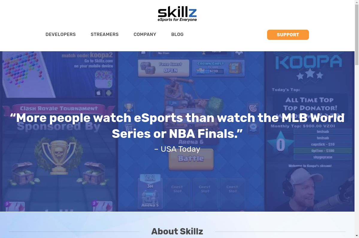 Skillz website