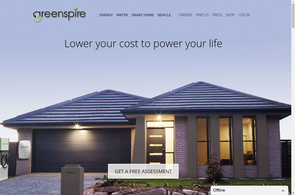 Greenspire website