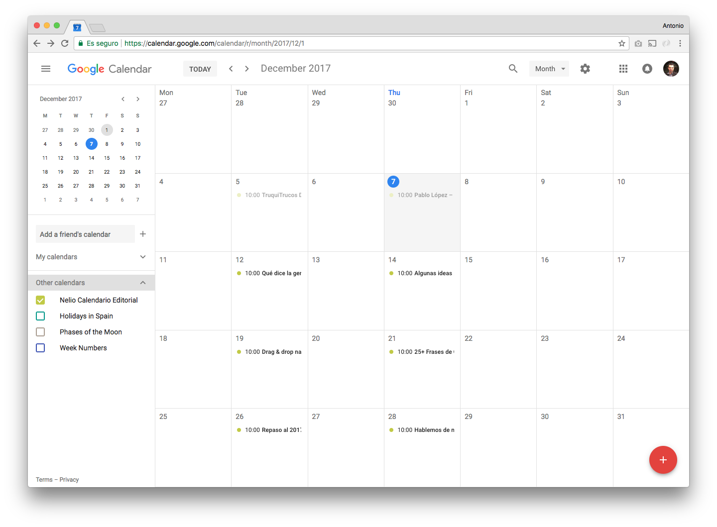 how to know who can see your calender google