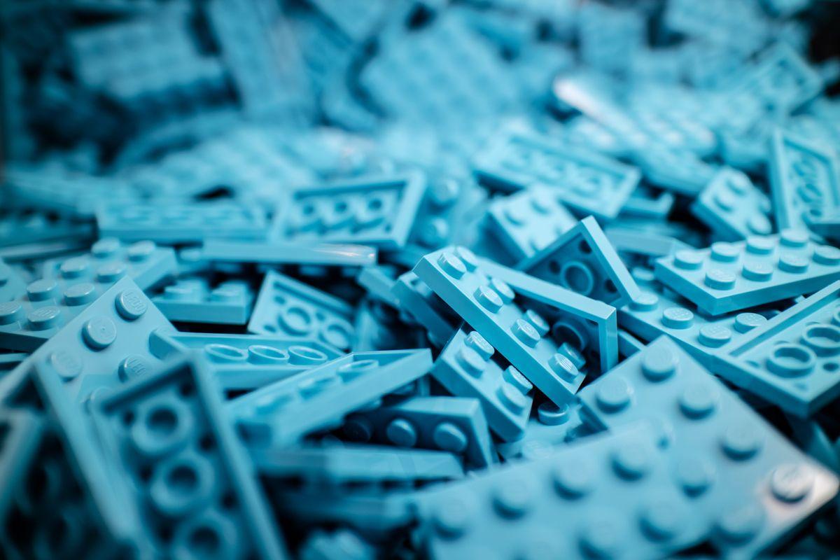 Lego blocks, by Iker Urteaga