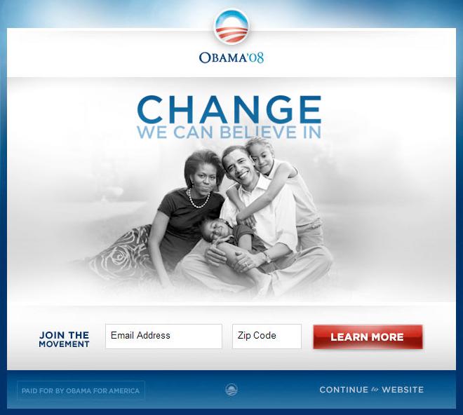 Obama winner variation