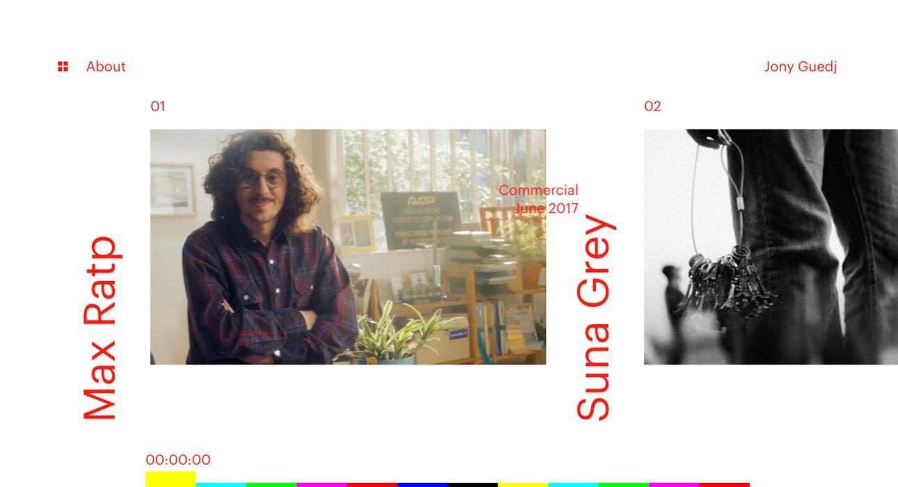 Jony Guedj website